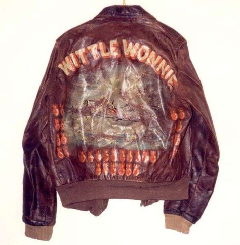 The Type leather flight jacket is a military flight jacket typically connected with World War II. It is also known as a bomber jacket.
