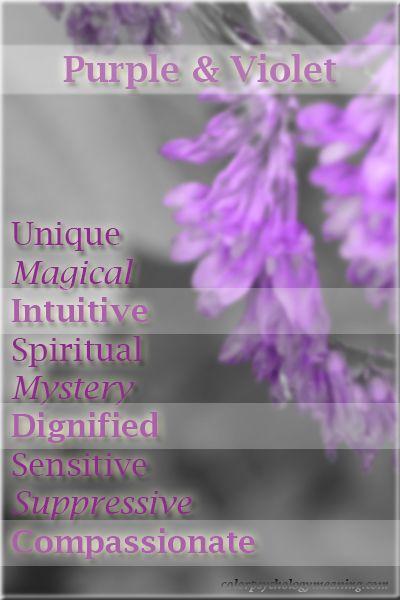 Color Purple Violet Meaning Color Psychology Personality Color Meanings Color Psychology