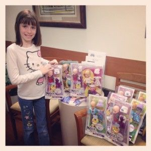 Nine Year Old Donates Birthday Presents To Cancer Patients