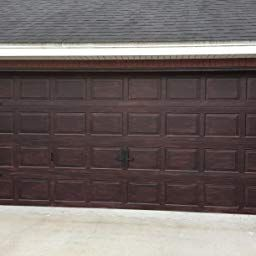 Amazon Com Customer Reviews Giani Wood Look Door Paint Kit 2 Car Garage Black Walnut Garage Door Design Garage Doors Garage Door Paint