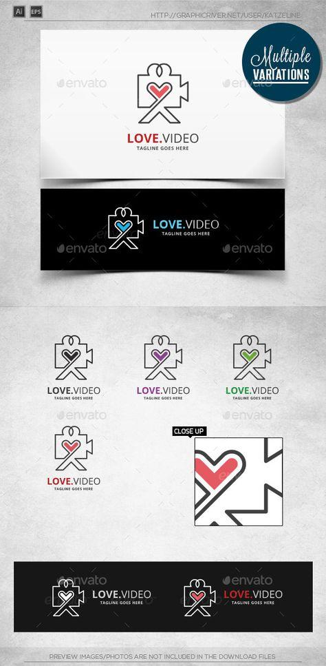 Love Video - Logo Template