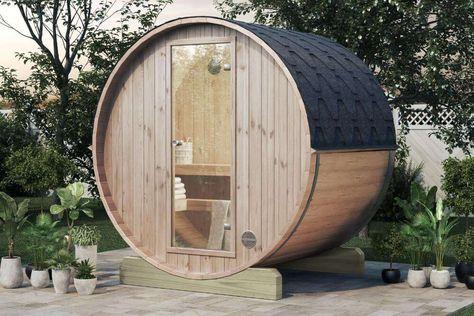 Finntherm Fass Sauna Mini 160 Garden