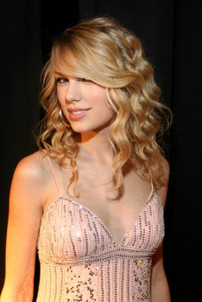 Singer Taylor Swift during the Academy of Country Music New Artists' Party for a Cause show at the MGM Grand Hotel/Casino on May 17 2008 in Las Vegas...