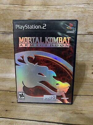 Mortal Kombat: Armageddon (Sony PlayStation 2, 2006) for sale online   eBay