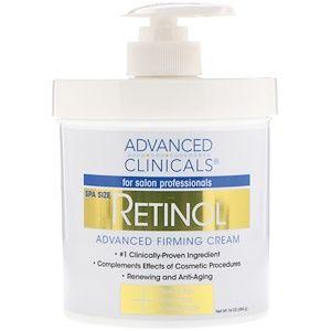 Advanced Clinicals Retinol Ukreplyayushij Ukreplyayushij Krem 16 Uncij 454 G Firming Cream Retinol Retinol Cream
