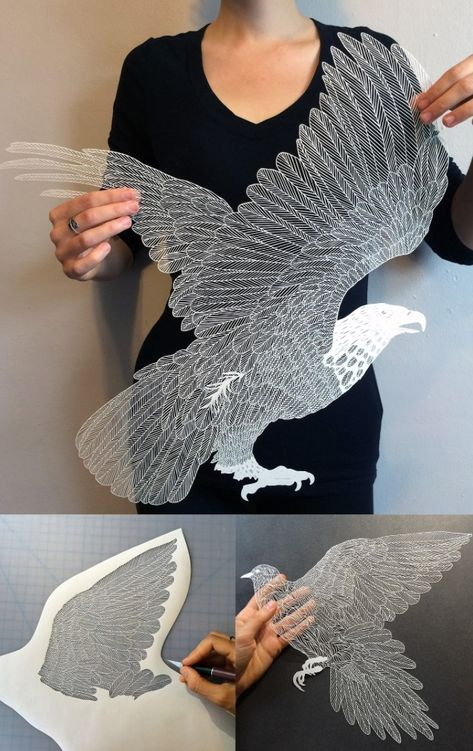 """""""I liked making paper snowflakes as a kid"""" - Imgur"""