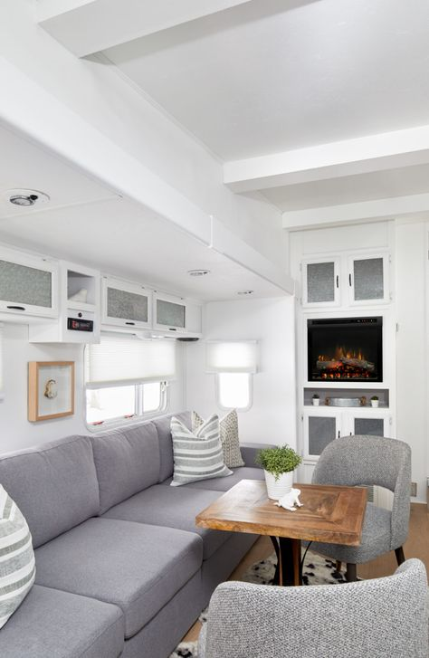 An Hgtv Designer Gave This Fifth Wheel A Complete Makeover Rv