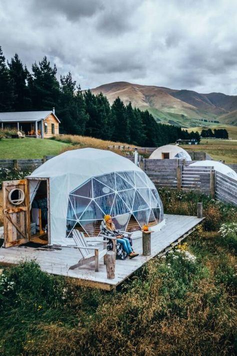 Nuit D Exception En Glamping Nouvelle Zelande Glamping Dome