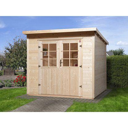 Weka Holz-Gartenhaus Taro A 235 cm x 240 cm | Gartenhäuser und Gärten