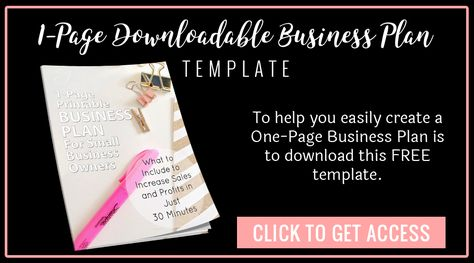 5 Steps to Create a Business Plan - Classy Career Girl