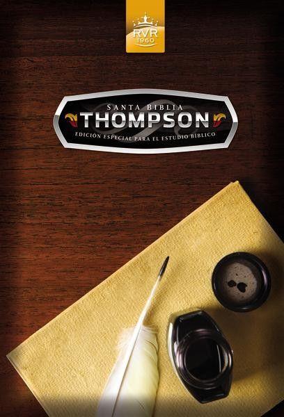 Santa Biblia Thompson Edicion Especial Para El Estudio Biblico Rvr