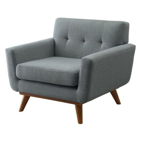Brilliant Edgemod Mari Lounge Chair Light Grey Em 227 Wal Lgr Dailytribune Chair Design For Home Dailytribuneorg