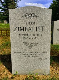 Efrem Zimbalist, Jr - Handsome, debonair and blessed with a distinguished voice that reflected his real-life prep school upbringing, Efrem Zimbalist Jr. was a prolific actor whose greatest fame came as a brilliant G-man in the classic series,