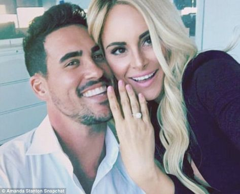 There it is: Amanda Stanton showed off her engagement ring from Josh Murray who she fell for on Bachelor In Paradise