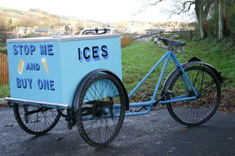 Ice Cream Bike Hire Mobile Snack Bar Event Catering Scotland