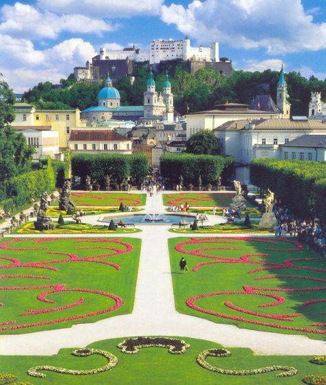"Mirabell Gardens, Salzburg, Austria. Yes from ""Do Re Mi"" in the Sound of Music."