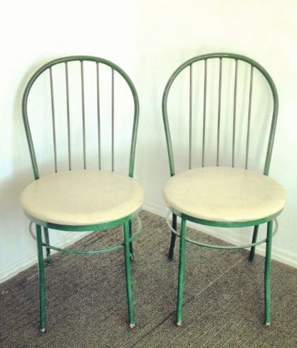 Patio Furniture Omaha.Vintage Metal Bistro Chairs For Sale In Omaha Ne In 2019 For Sale