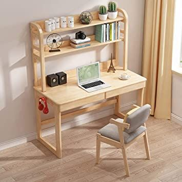 Lyntop Children Study Desk Wooden Student Study Table Computer Desk Gift For Girls And Boys Ndash Best For 6 7 A In 2020 Kids Study Desk Kids Study Table Study Table