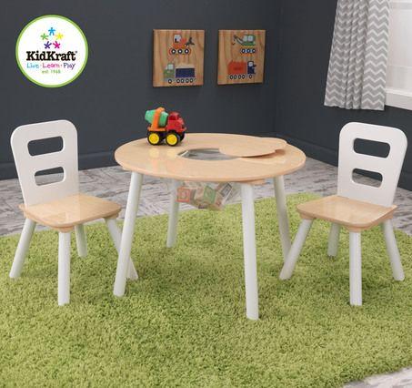 Kidkraft Aufbewahrungstisch Mit Zwei Stuhlen Kindertisch Jetzt
