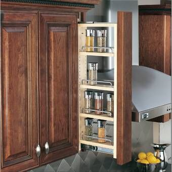 Pantry Pullout Vs Tal Larder Set 210 Saphir 3 Baskets H 37 12 47 14 In Scalea Maple In 4 In 2020 Kitchen Cabinet Accessories Kitchen Wall Shelves Rev A Shelf