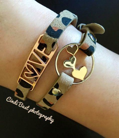 Origami Owl Bracelet (New) Crystal Blush and 23 similar items | 547x474