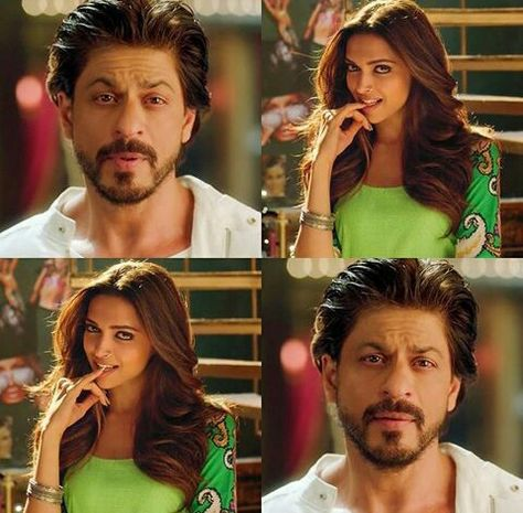 Deepika Padukone and Shahrukh Khan - Happy New Year (2014)
