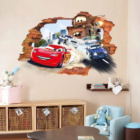 Jackson Storm Cars Movie Wall Sticker Decal Home Decor Art Mural Disney WC18