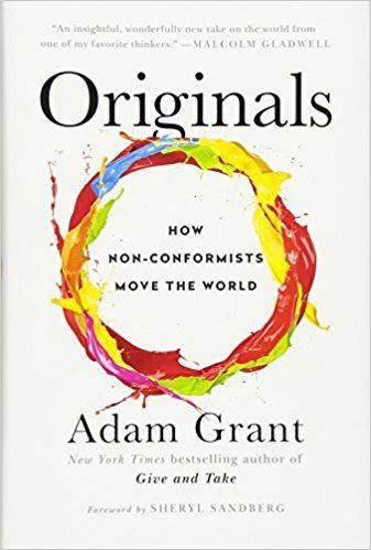2016 Adam Grant Book Review Business Creativity