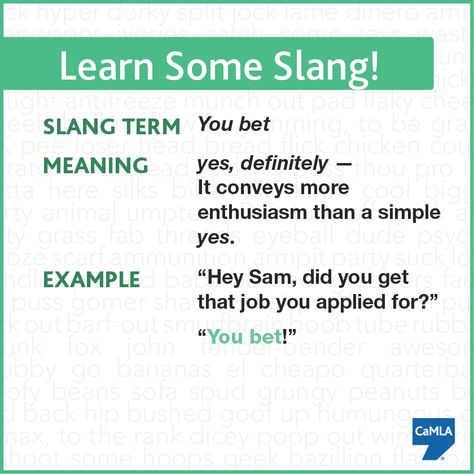 What Does Bet Mean In Slang