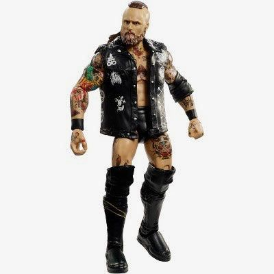 WWE ELITE COLLECTION SERIES #51 AJ STYLES ACTION FIGURE WRESTLING TOY VEST HOOD