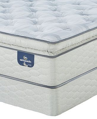 Serta Sertapedic 14 Cassaway Plush Pillow Top Mattress Set King Reviews Mattresses Macy S Plush Pillows Pillow Top Mattress Mattress Sets