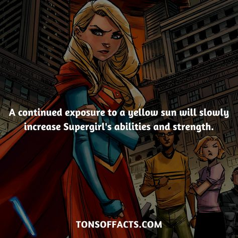 25 Fascinating And Fun Facts About Supergirl - Tons Of Facts