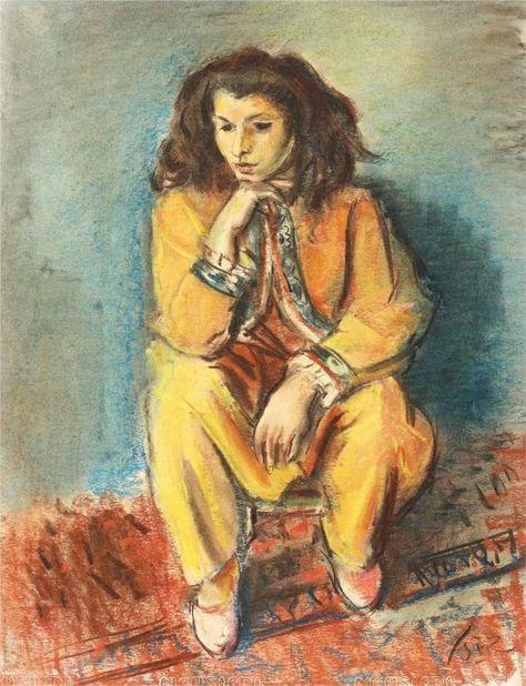 The Spanish Woman - Iosif Iser - WikiArt.org
