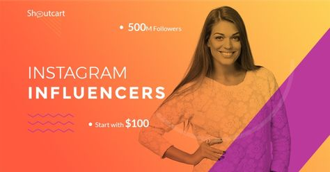 Buy Shoutouts from Social Media Influencers.Top Influencers.We check influencers for accuracy and authenticity with our proprietary Shoutcart Score!Work only with influencers that matter!