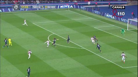 Hatem Ben Arfa outside the box goal vs PSG (1-1)