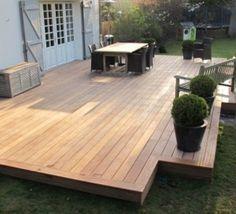 terrasse | inspiration | pinterest | patios, decking and pergolas - Comment Construire Une Terrasse En Beton