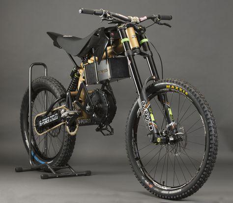 2018 Typhoon Pro Hi Power Cycles Electric Mountain Bike Electric Dirt Bike Powered Bicycle