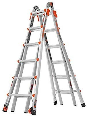Little Giant 22 Foot Velocity Multi Use Ladder 300 Pound Duty Rating 15422 001 Telescoping Ladders Amazon Com In 2020 Multi Purpose Ladder Ladder Little Giants