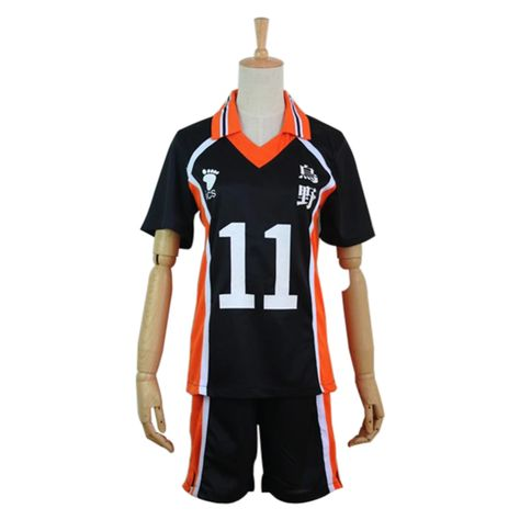 Haikyuu Cosplay Costume Karasuno High School Volleyball Club Tsukishima Kei Sportswear Jerseys Uniform In 2020 Hip Shirts Haikyuu Cosplay Cosplay Costumes