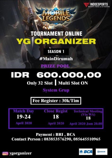 Tournament Online Mobile Legends