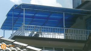 harga ganti atap baja ringan project kanopi bajaringan minimalis rumah dan desain