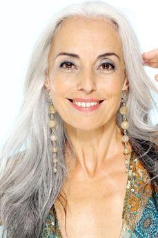 Yasmina Rossi--love her hair!