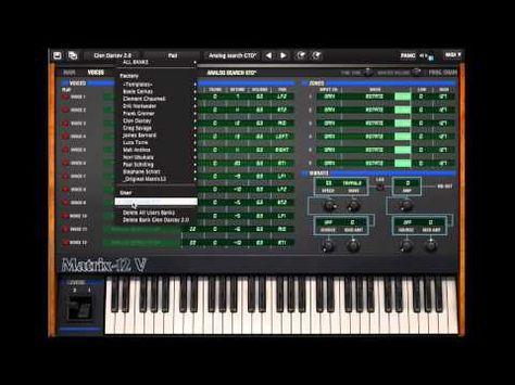 nice Arturia Matrix 12 V tutorial part 2 Free Download Crack VST