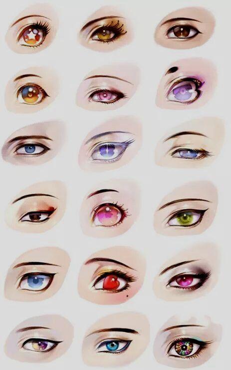 Animegirl Anime Animeart Anime Eye Drawing Eye Illustration Eye Drawing