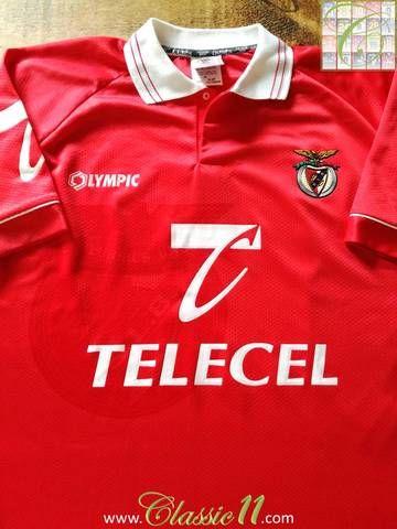 timeless design ec3ca 0f903 1996/97 Benfica Home Football Shirt (XL)   Just arrived in ...