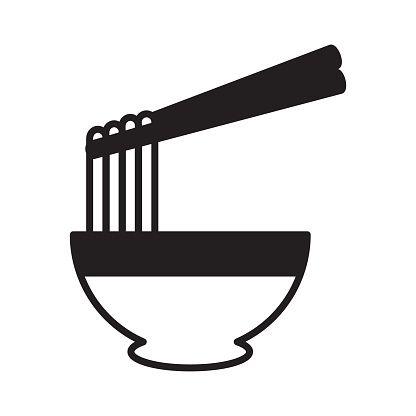 Ramen Noodle Icon Vector Icon Vector Icons Ramen Noodles Icon