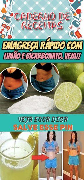Limao E Bicarbonato Para Queimar Gordura Abdominal Limaoemagrece