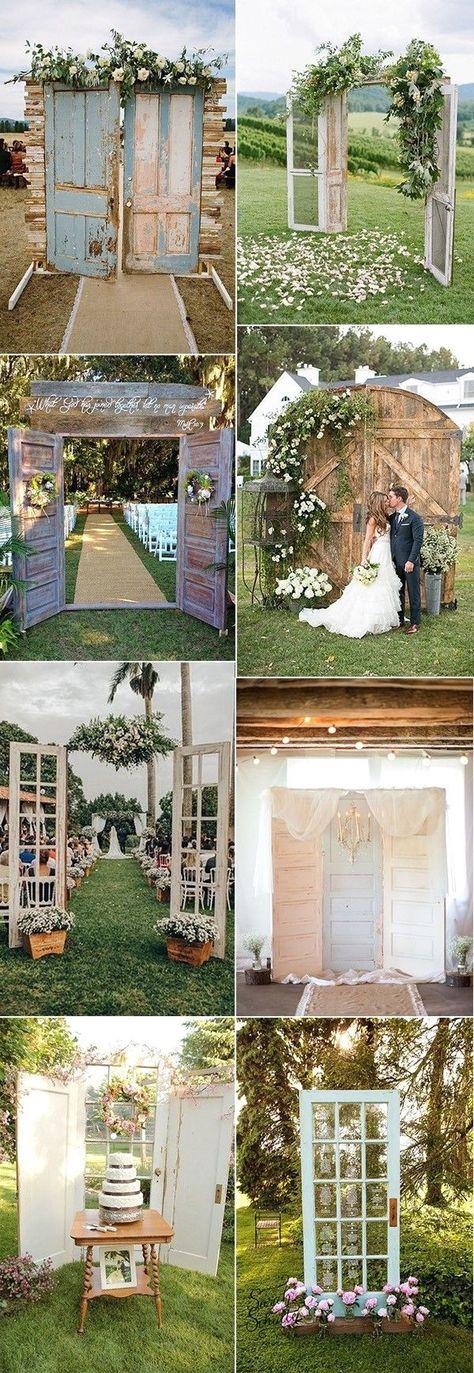 New Rustic Wedding Decoration Ideas #rusticdecor