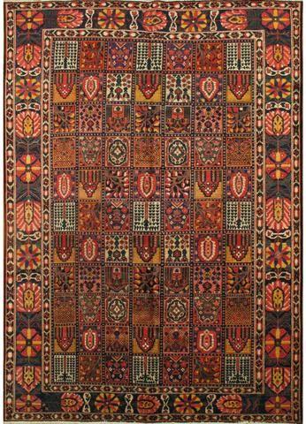 Antique Bakhtiari Rug 8 X 12 Rugs