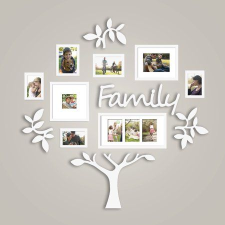 Family Tree Photo Frame Set College Frame Wall Decoration Combination Pvc Picture Frame Selfie Gallery Collage With Full Size Hanging Template Wall Mounti Family Tree Photo Frame Family